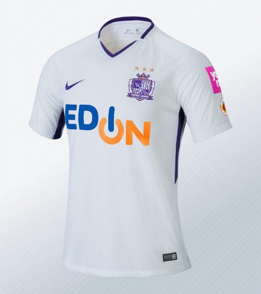 Camiseta suplente del Sanfrecce Hiroshima para 2018 | Foto Nike