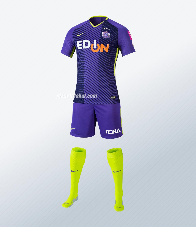 Camiseta titular del Sanfrecce Hiroshima para 2018 | Foto Nike