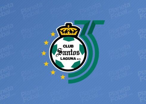 Escudo por los 35 años del Santos Laguna   Imagen Twitter Oficial