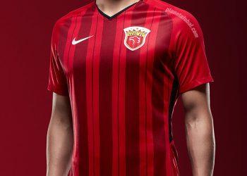 Camiseta titular del Shanghái SIPG | Imagen Nike