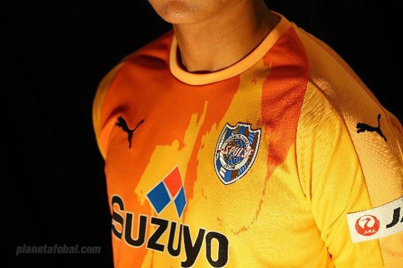 Camiseta titular Puma del Shimizu S-Pulse | Imagen Web Oficial