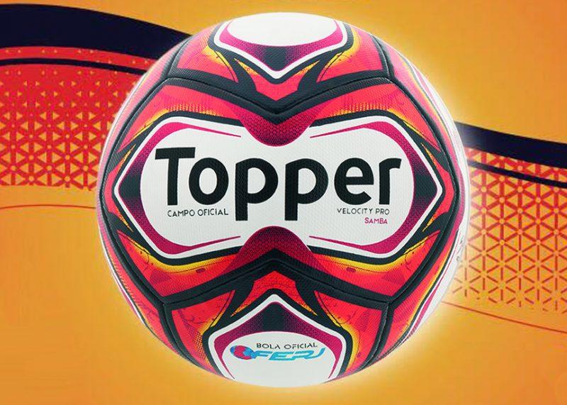 Nuevo balón Samba para el campeonato Carioca   Imagen Gentileza Topper