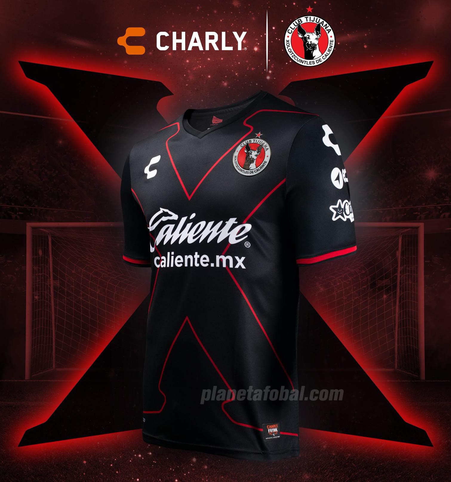 Tercera camiseta delos Xolos de Tijuana | Imagen Charly