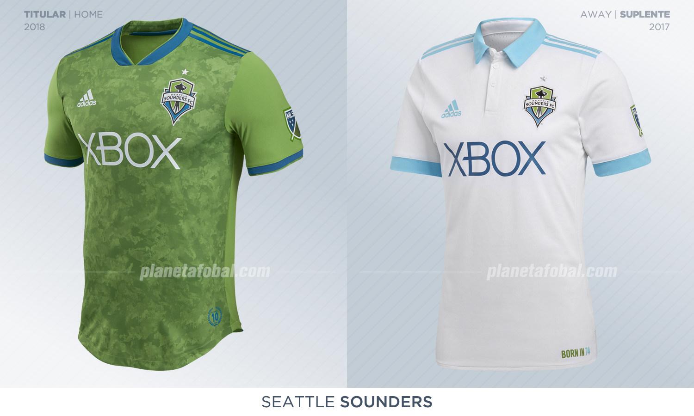 Camisetas del Seattle Sounders 369e53fd48ddf