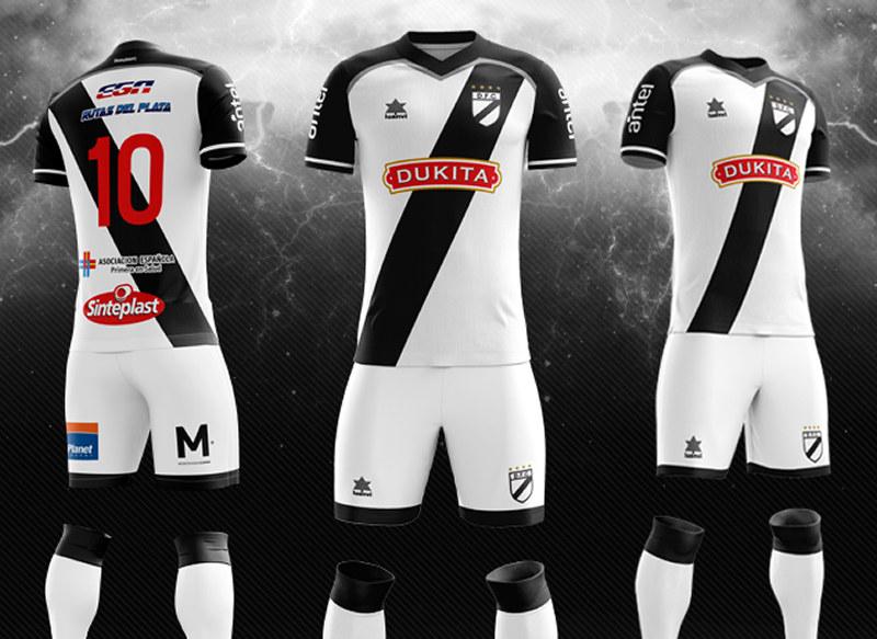 Camiseta titular 2018 Luanvi de Danubio | Foto Web Oficial