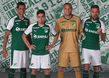 Camiseta titular Puma del Deportivo Cali | Foto Instagram Oficial