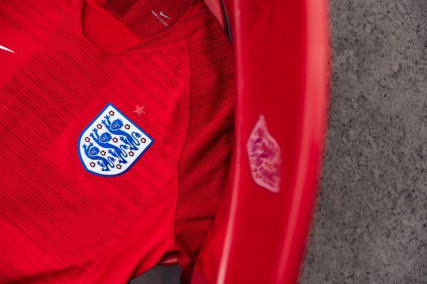 Nueva casaca suplente de Inglaterra Mundial 2018 | Foto Nike