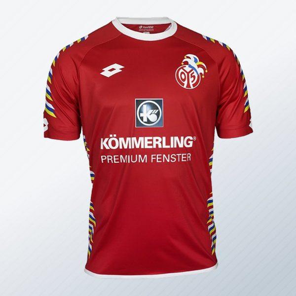 Fastnachtstrikot Lotto del Mainz 05 2017-18 | Foto Web Oficial