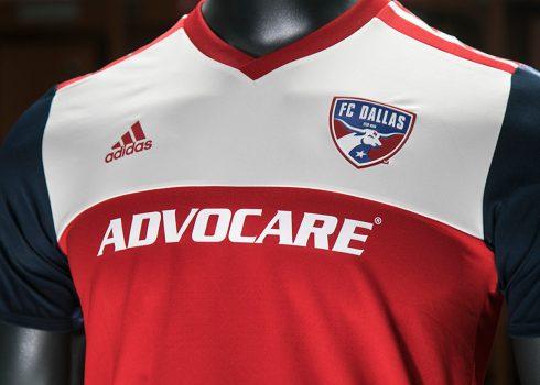 Camiseta titular adidas del FC Dallas | Foto Web Oficial