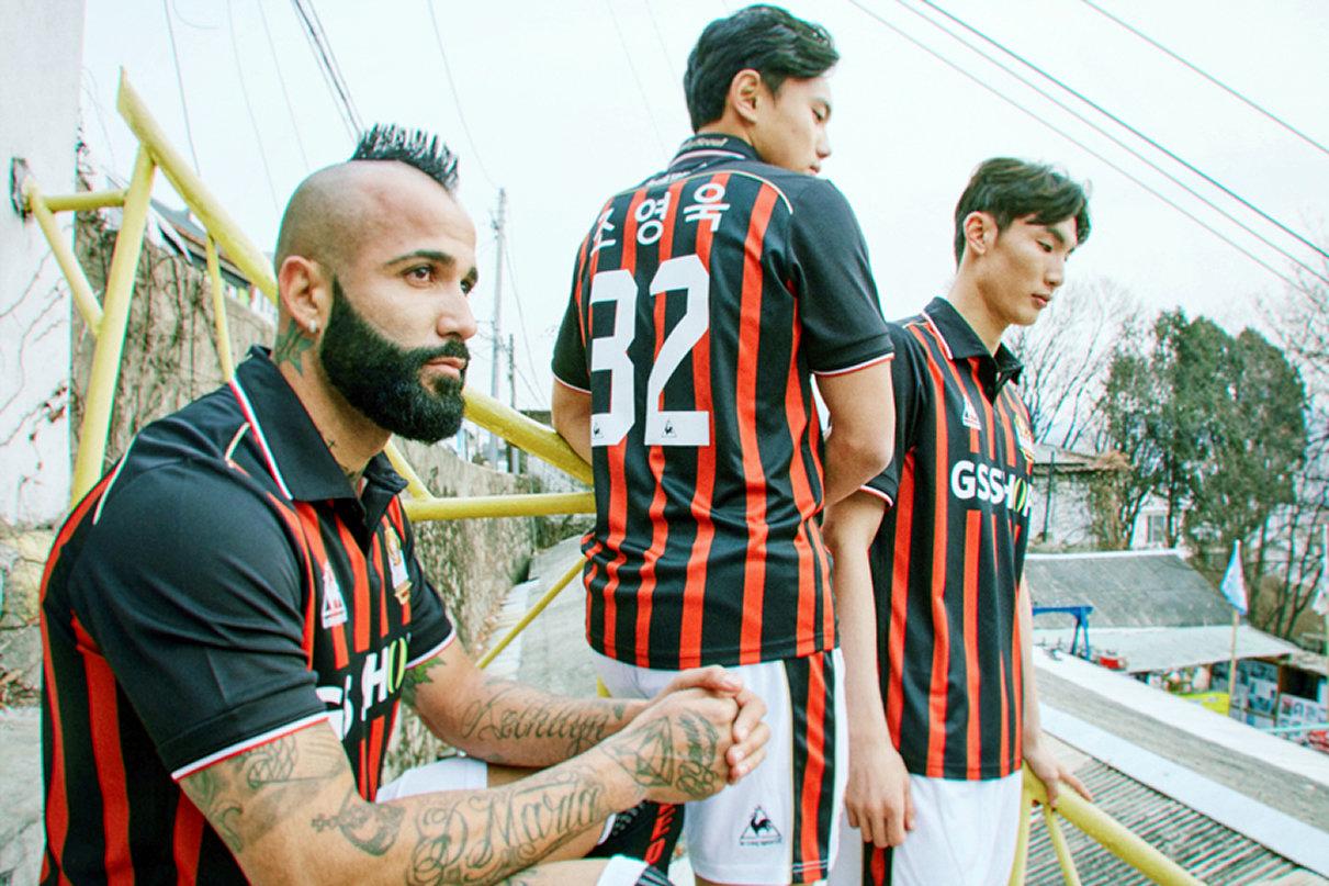 Camiseta titular le coq sportif del FC Seoul | Foto Web Oficial