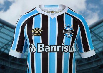 Camiseta titular 2018 del Grêmio | Foto Umbro