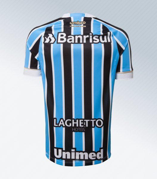 Camiseta titular 2018 del Grêmio | Foto Web Oficial