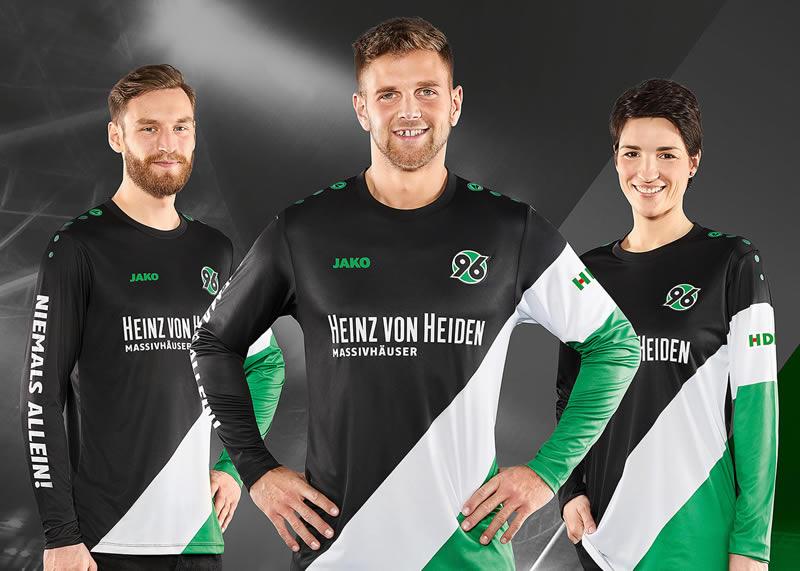 Camiseta especial Jako del Hannover 96   Foto Web Oficial