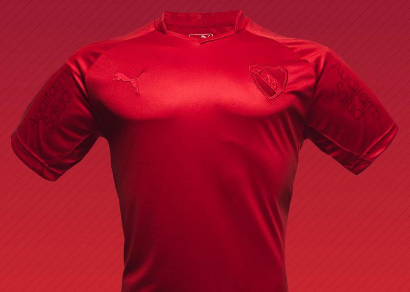 Camiseta edición limitada Puma de Independiente   Foto Facebook Oficial