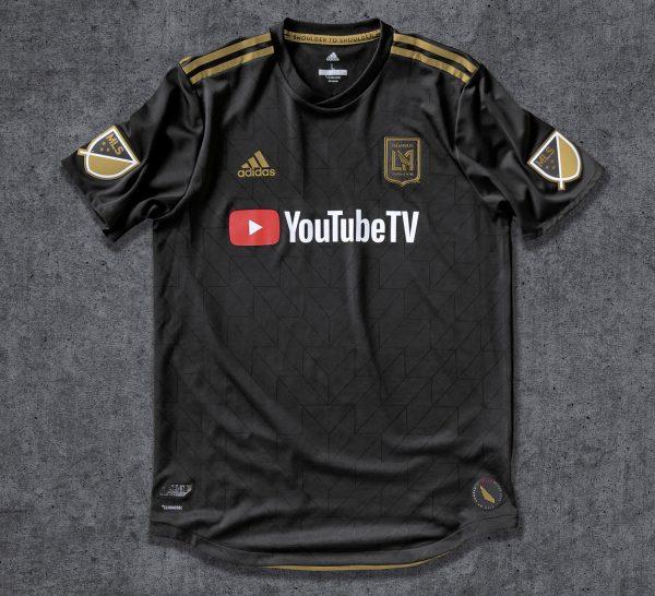 Camiseta titular Adidas 2018 de Los Angeles FC | Foto Web Oficial