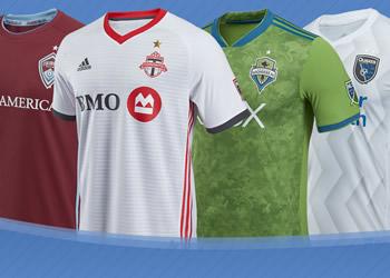 Las camisetas de la MLS 2018