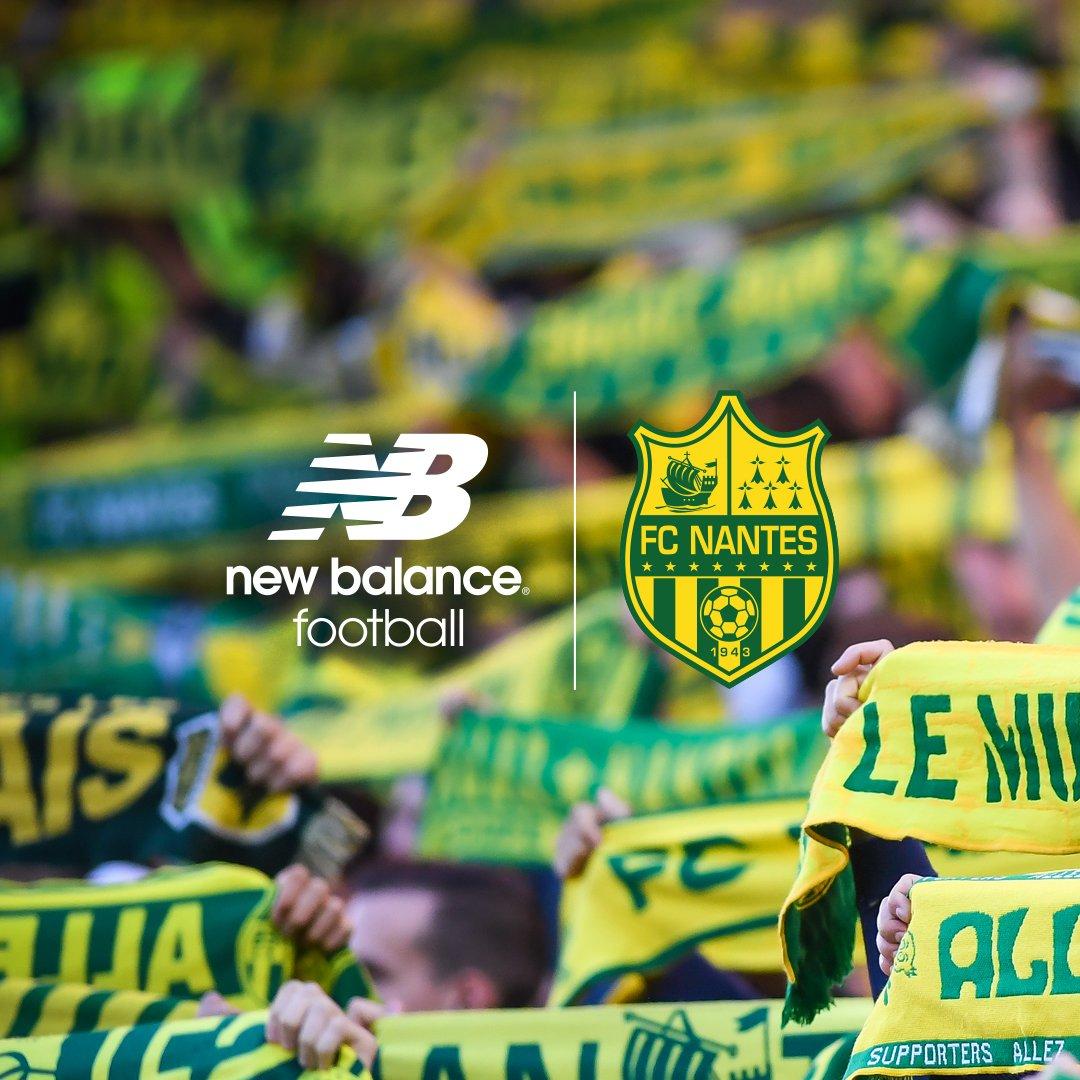 FC Nantes será vestido por New Balance desde 2018-19 | Foto Web Oficial