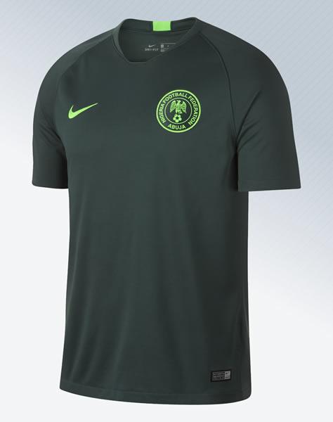 Camiseta titular de Nigeria Mundial 2018 | Imagen Nike