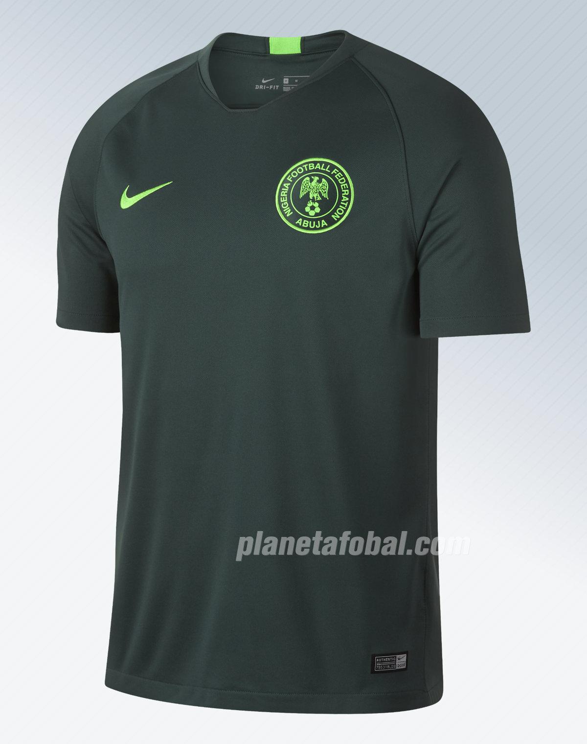 7f2eb46665 Camiseta titular de Nigeria Mundial 2018