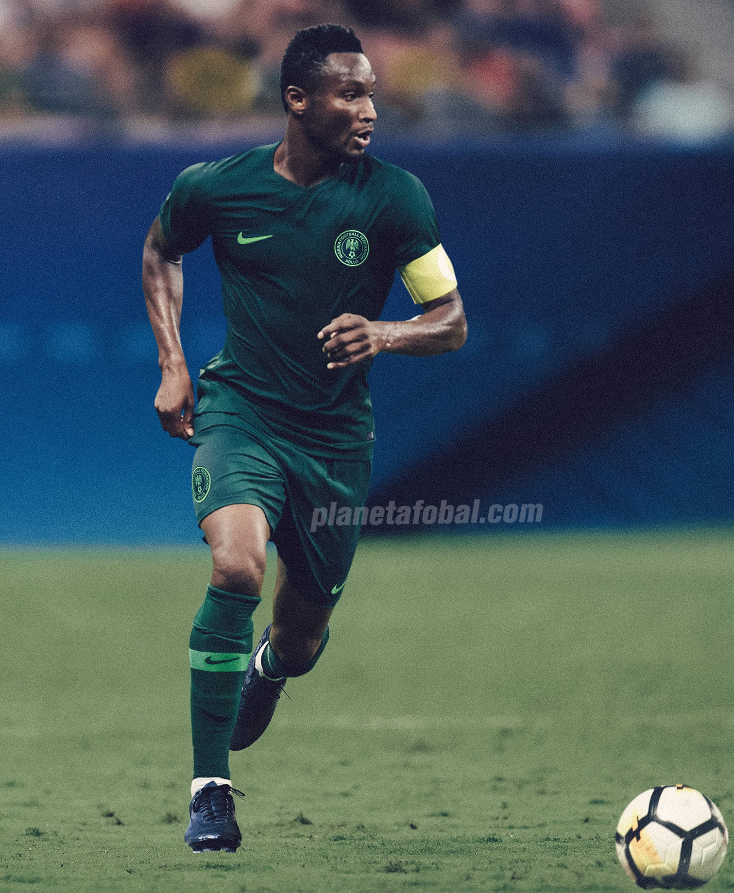 Camiseta suplente de Nigeria Mundial de Rusia 2018 | Foto Nike