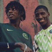 Camisetas de Nigeria Mundial de Rusia 2018   Foto Nike