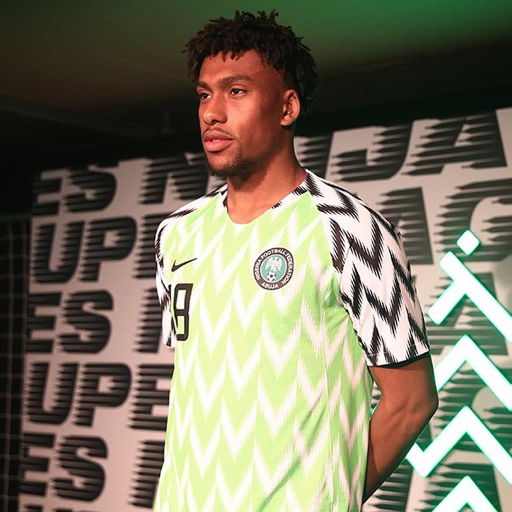 4fdd1d4d03 Camiseta titular de Nigeria Mundial de Rusia 2018