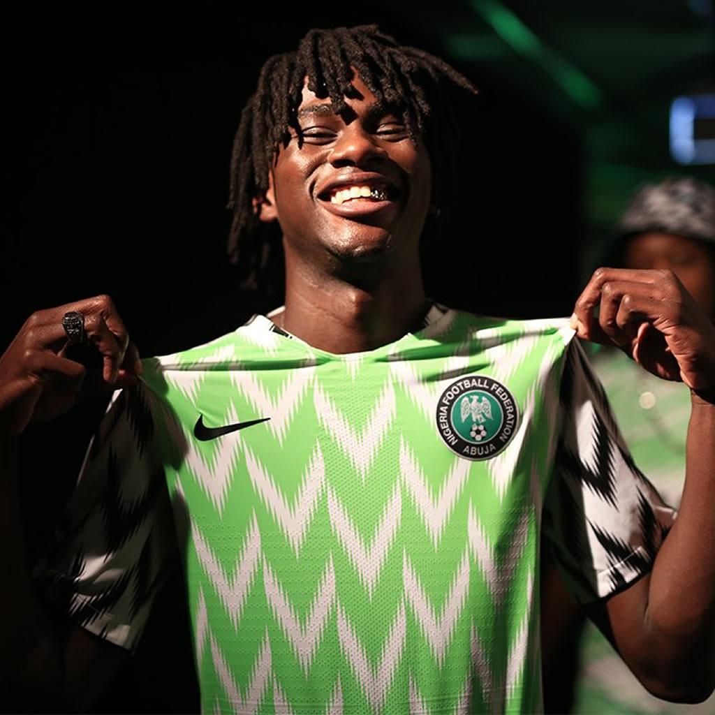 Camisetas Nike de Nigeria Mundial 2018