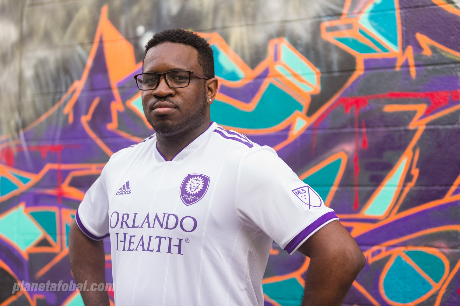 Camiseta alternativa adidas del Orlando City | Foto Web Oficialq