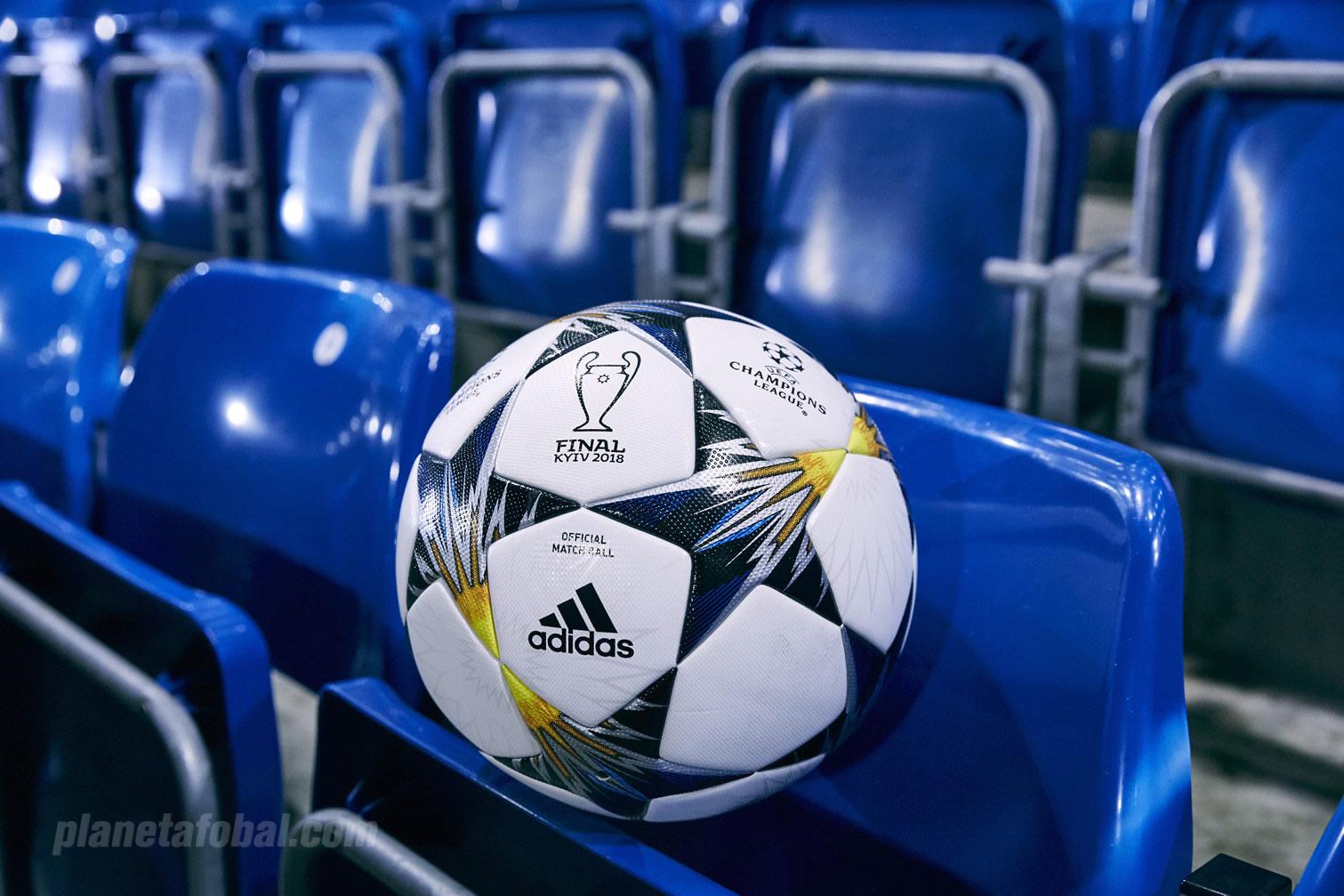 Balón oficial UCL Final Kiev 2018 | Foto Adidas