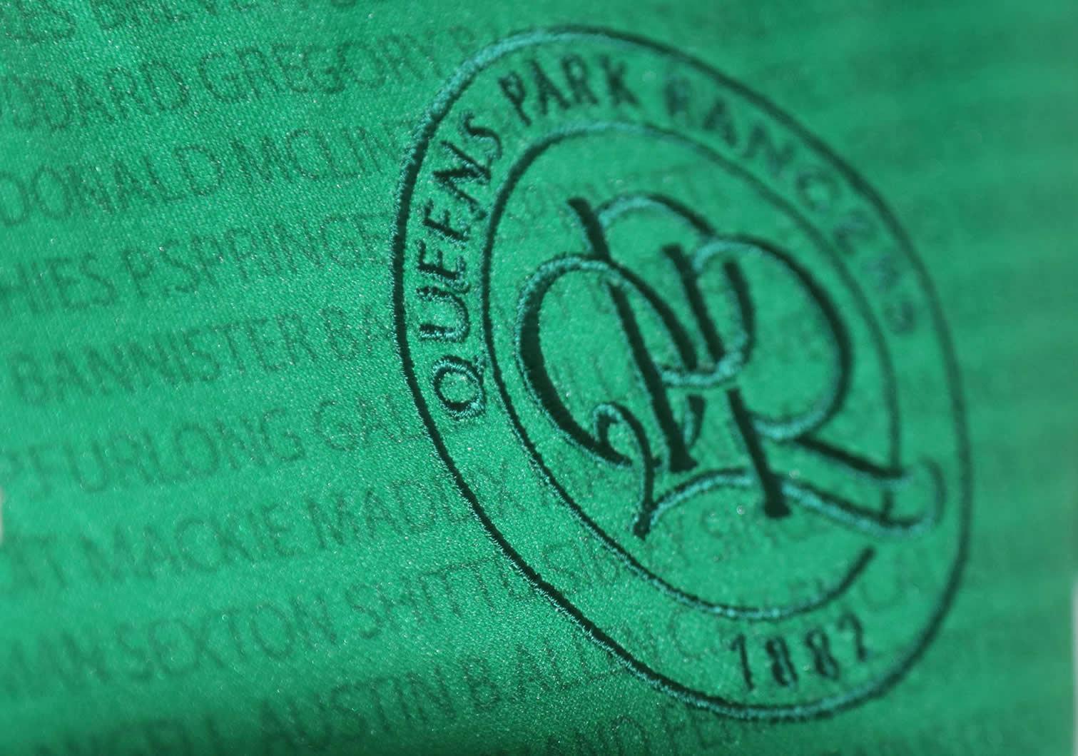 Kit conmemorativo Erreà del QPR | Foto Web Oficial
