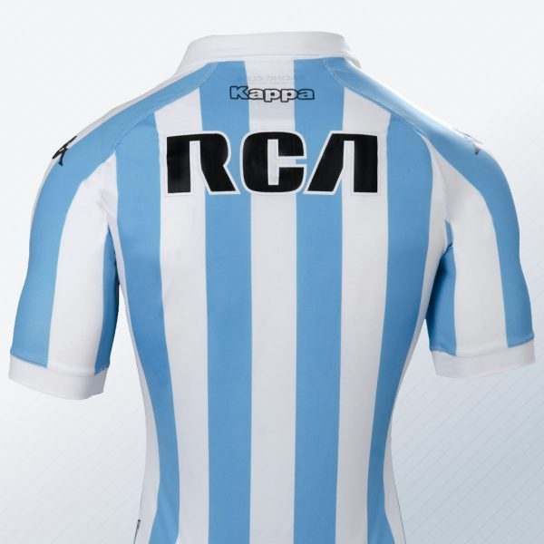 Camiseta titular 2018 Kappa de Racing | Foto Web Oficial