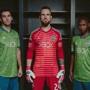 Camiseta titular Adidas 2018/19 del Seattle Sounders | Foto Web Oficial