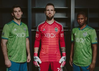 Camiseta titular Adidas 2018/19 del Seattle Sounders | Foto Web Oficial