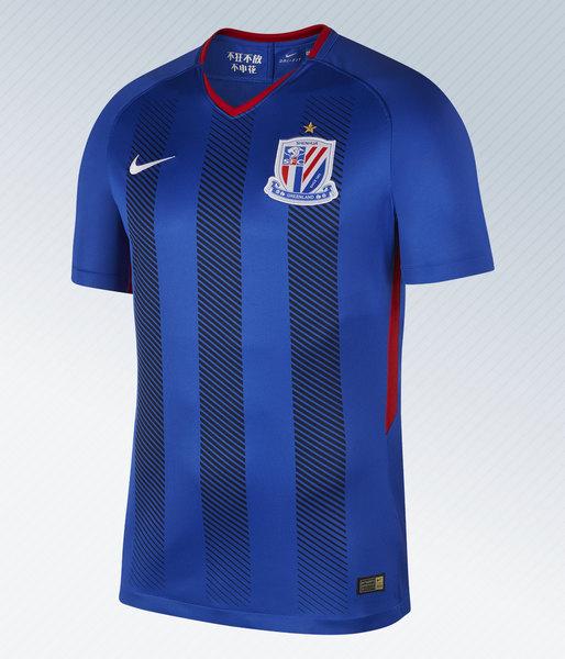 Camiseta titular 2018-19 del Shanghai Shenhua | Imagen Nike