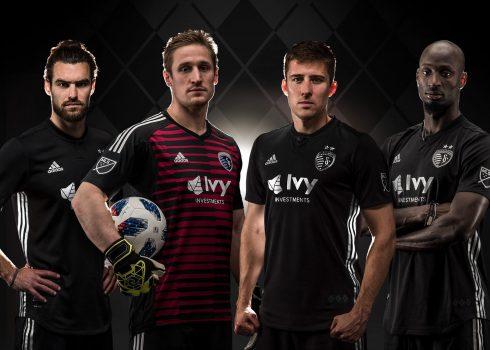Camiseta suplente Adidas 2018 del Sporting Kansas City | Foto Web Oficial