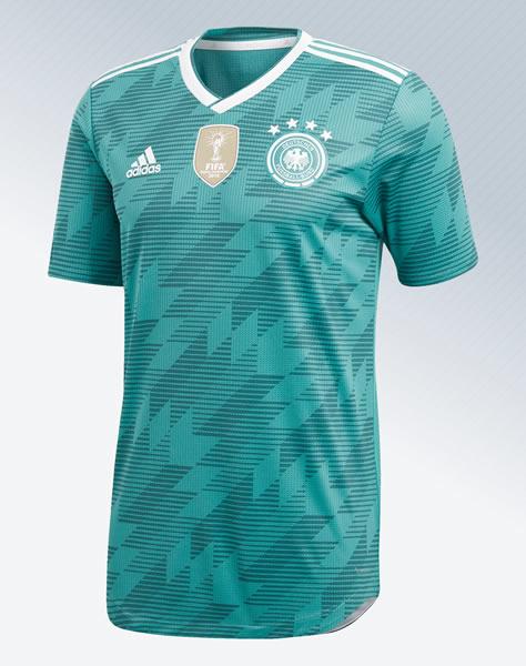 Camiseta suplente de Alemania Mundial 2018 | Imagen Adidas