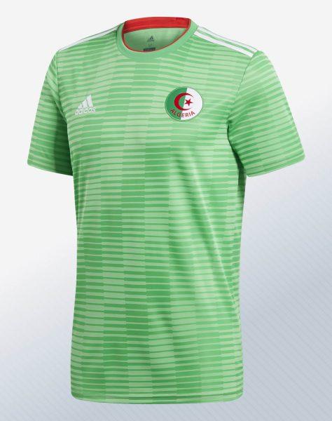 Camiseta suplente de Argelia | Imagen Adidas