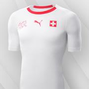 Camiseta suplente de Suiza Mundial 2018 | Imagen Puma