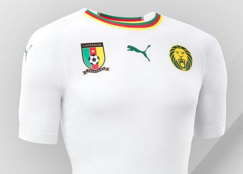Camiseta suplente de Camerún 2018/2019 | Imagen Puma