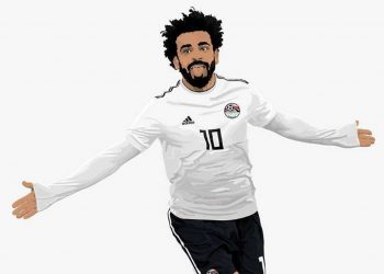 Mohamed Salah con el flamante modelo | Foto Adidas