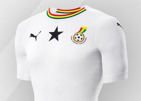 Camiseta suplente de Ghana 2018/2019   Imagen Puma