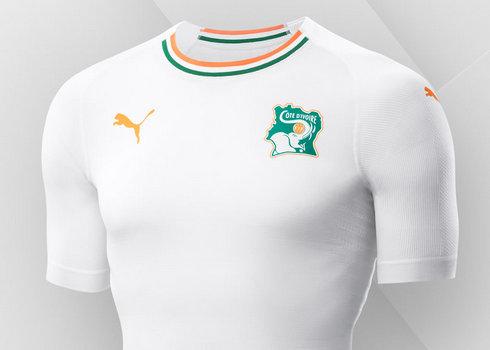 Camiseta suplente de Costa de Marfil 2018/2019 | Imagen Puma