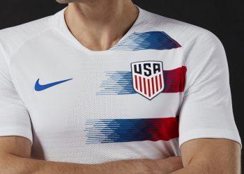 Camiseta titular de Estados Unidos 2018-2019 | Imagen Nike