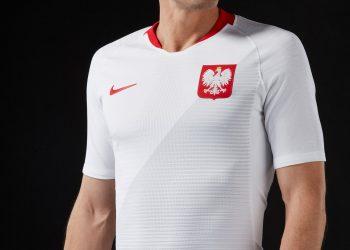 Camiseta titular de Polonia Mundial 2018 | Foto Nike