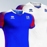Nuevas camisetas de Islandia para el Mundial 2018 | Imágenes Erreà