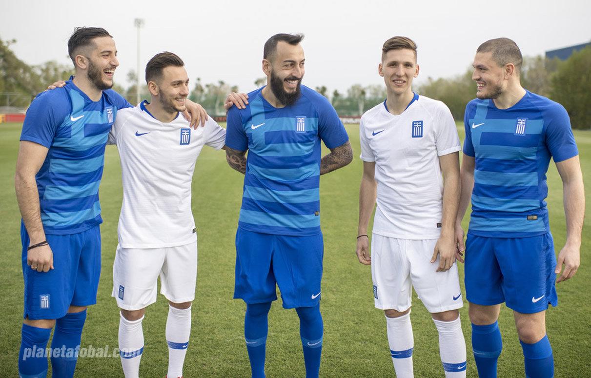 Nuevas camisetas Nike de Grecia 2018-2019 | Foto EPO