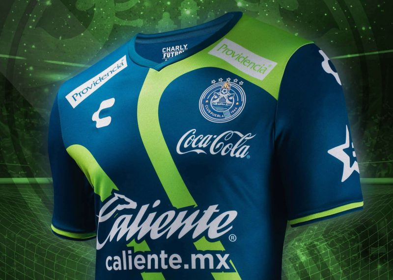 Tercera camiseta 2018 del Club Puebla | Foto Charly Fútbol