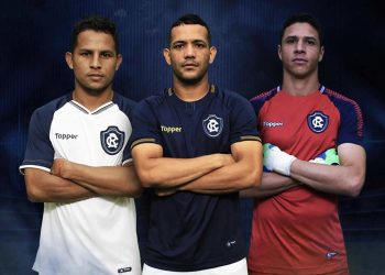 Camisetas Topper 2018 del Clube do Remo | Foto Instagram Oficial