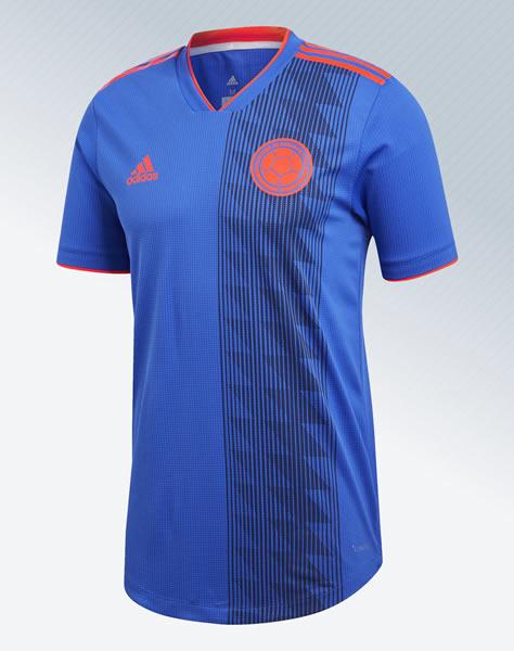 Camiseta suplente de Colombia Mundial 2018 | Imagen Adidas