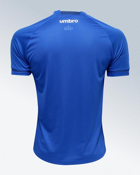 Nueva camiseta titular 2018 del Cruzeiro | Foto Web Oficial